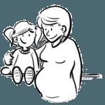 kind en moeder
